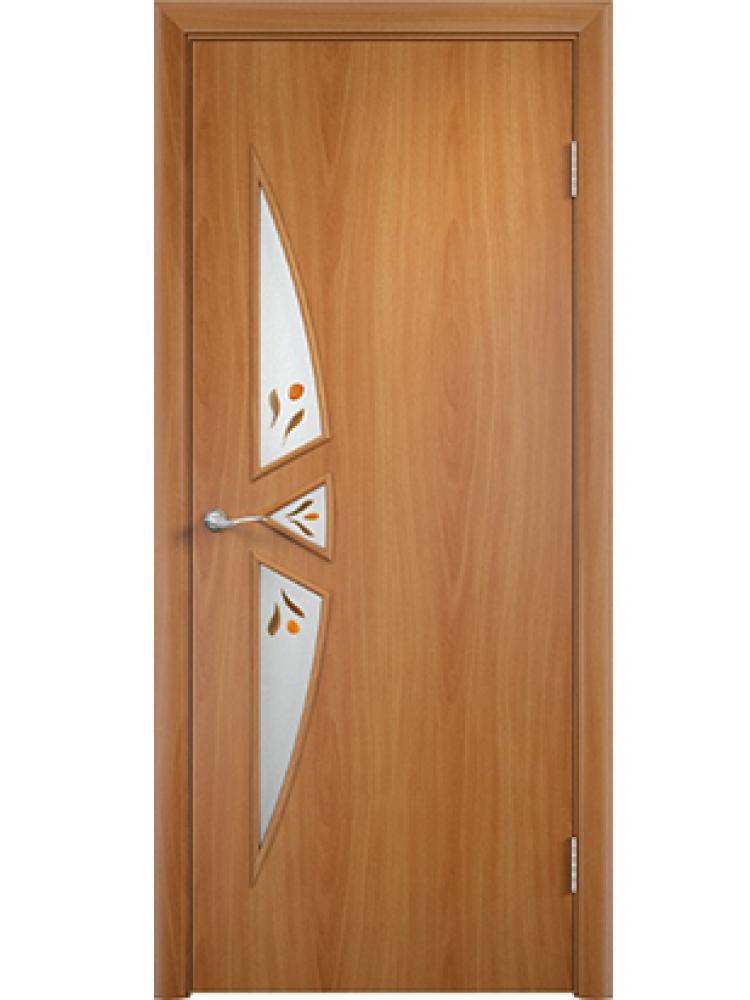 Остекленная дверь 25 фьюзинг