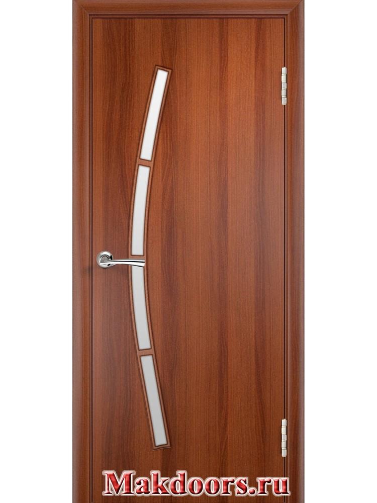 Остекленная дверь 33
