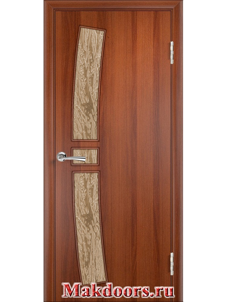 Остекленная дверь 34