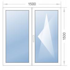 Окно 1500-1500