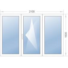 Окно 2100-1500