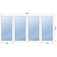 Окно 2800-1500