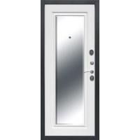 дверь 7,5 Гарда серебро зеркало фацет