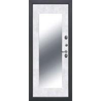 дверь 11СМ ИЗОТЕРМА БУКЛЕ ЧЕРНЫЙ ЗЕРКАЛО